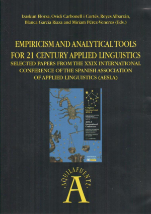 Cubierta para Empiricism and Analytical Tools for 21 Century Applied Linguistics. Selected papers from the XXIX International Conference of the Spanish Association of Applied Linguistics (AESLA)