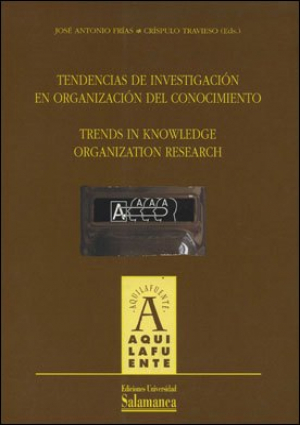 Cubierta para Tendencias de investigación en organización del conocimiento / Trends in Knowledge Organization Research