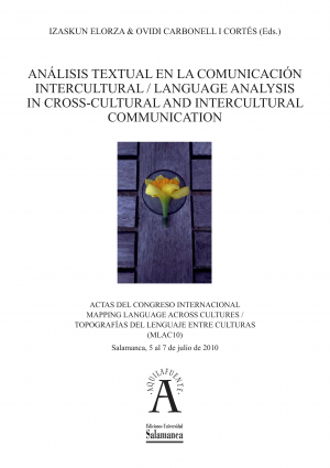 Cubierta para Análisis textual en la comunicación intercultural / Language Analysis in Cross-Cultural and Intercultural Communication