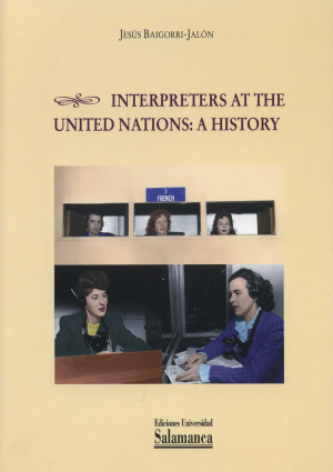 Cubierta para Interpreters at the United Nations: a history